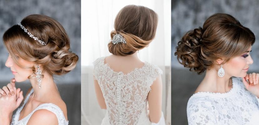 Peinados recogidos para bodas