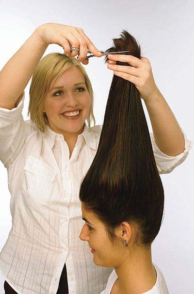 Como cortar el pelo en capas sola