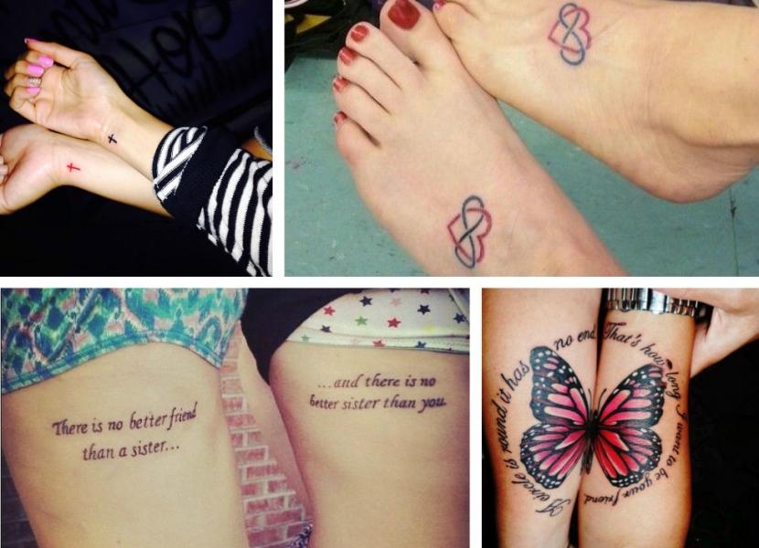 Tatuajes Para Hermanas Diseños Con Mucho Cariño