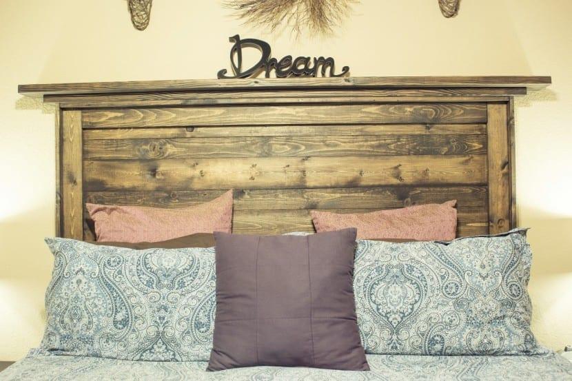 Ideas para tener un cabecero original y reciclado - Cabeceros originales de madera ...