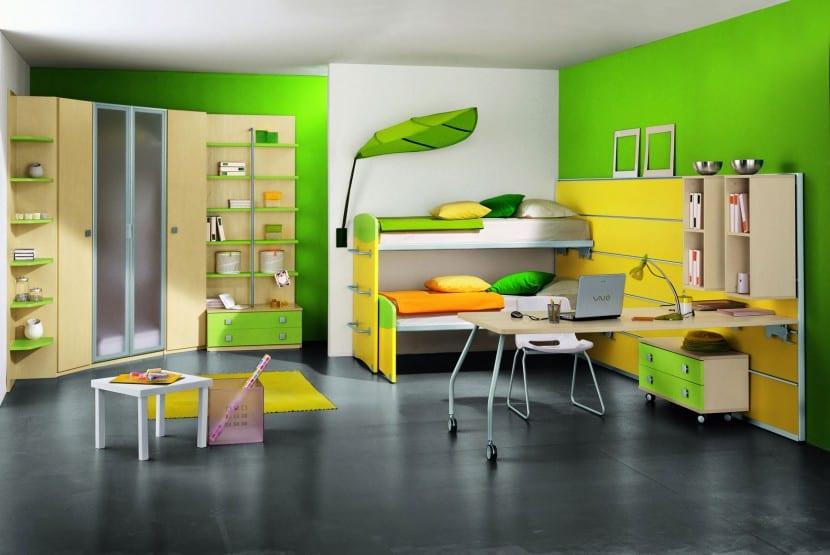 ideas decorativas para un dormitorio infantil