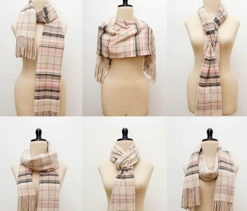 Formas sencillas de llevar bufanda