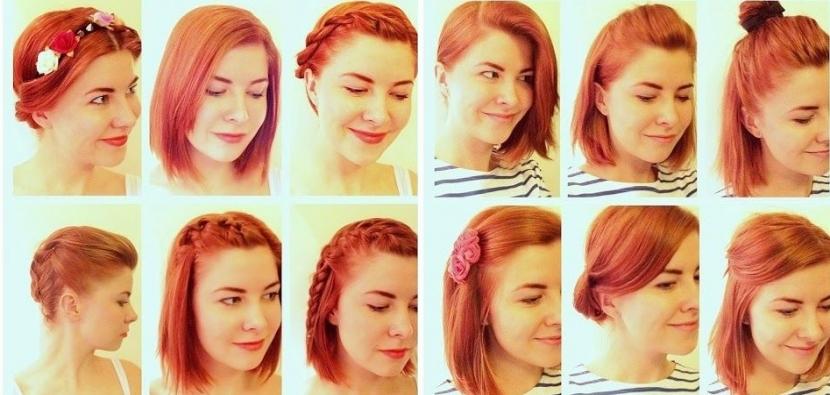 Peinados para media melena