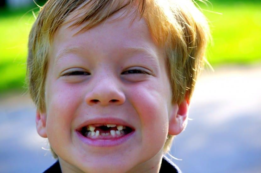 primer diente nene