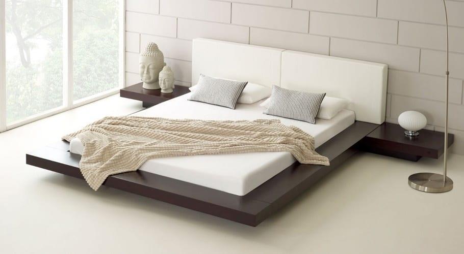 La elegancia de las camas minimalistas for Imagenes de recamaras estilo minimalista