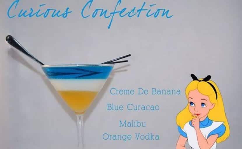 Bebida Alicia de Disney