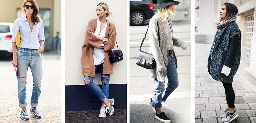Cropped jeans con playeras