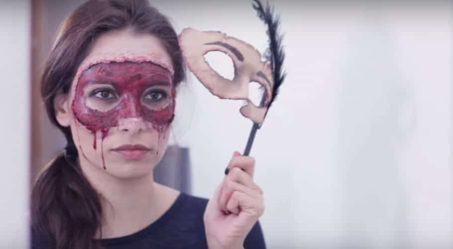 Maquillaje para disfraz de Halloween