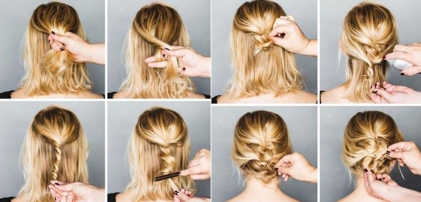 Peinados Faciles Para Cabello Corto Ideas Para Copiar