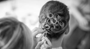 Peinado elegante para novias