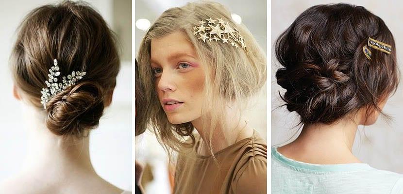 Peinados con pasador