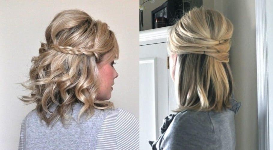 Peinados f ciles para cabello corto ideas para copiar for Recogidos bonitos y sencillos
