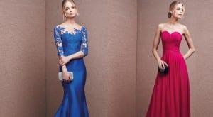 Escotes en los vestidos de fiesta