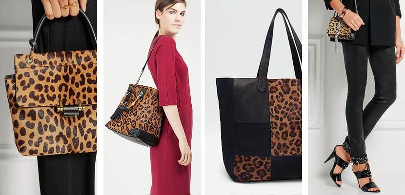 Bolsos print leopardo
