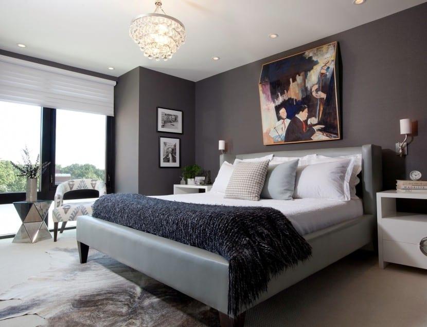 dormitorio elegante y cómodo
