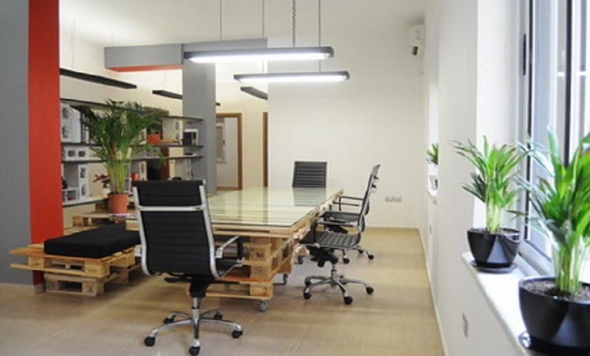 palets - escritorio de oficina