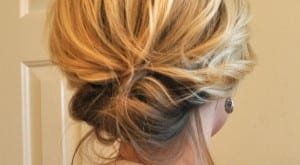 Peinado para media melena