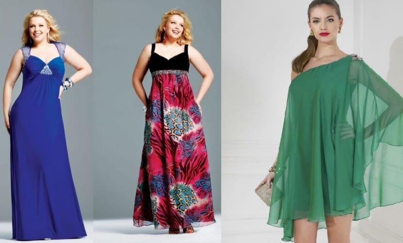 Vestidos largos para mujeres con poco busto