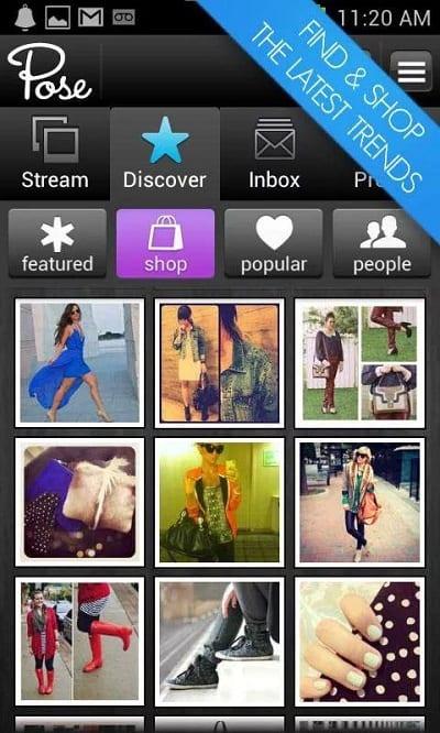 Mejores apps de belleza - Pose