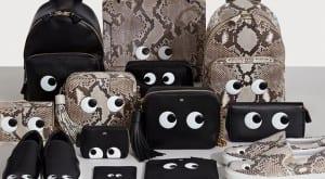 Bolsos negros y estampados