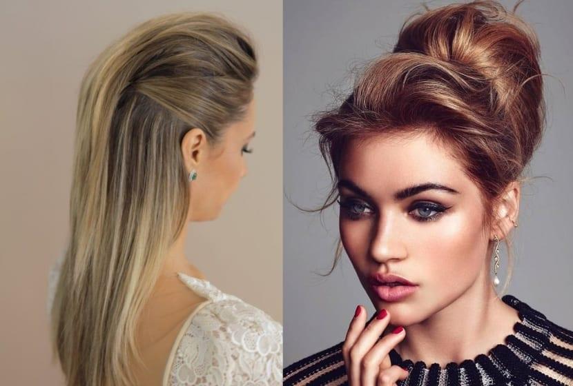 Peinados con estilo desenfadado