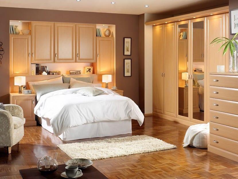 Decoración de pequeño dormitorio