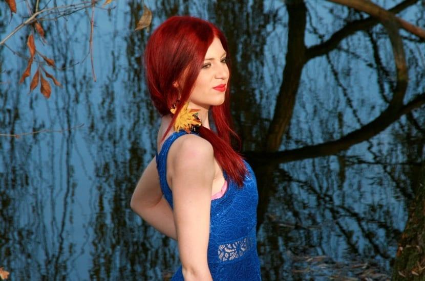 Color rojo para cabello