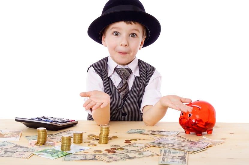 El dinero y los niños