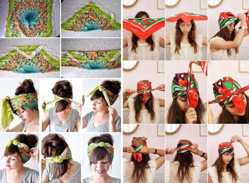Peinados Con Pañuelos Cómo Llevarlos A La Moda Bezzia