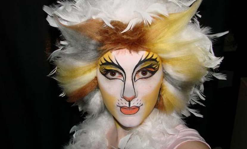 Maquillaje original de Carnaval animales