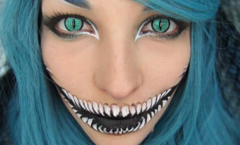 Maquillaje original de Carnaval gato
