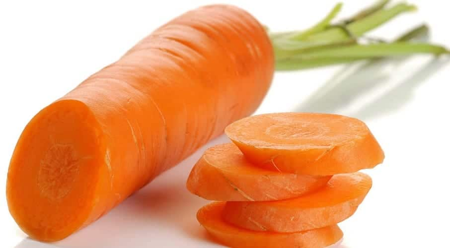 mascarilla de zanahoria