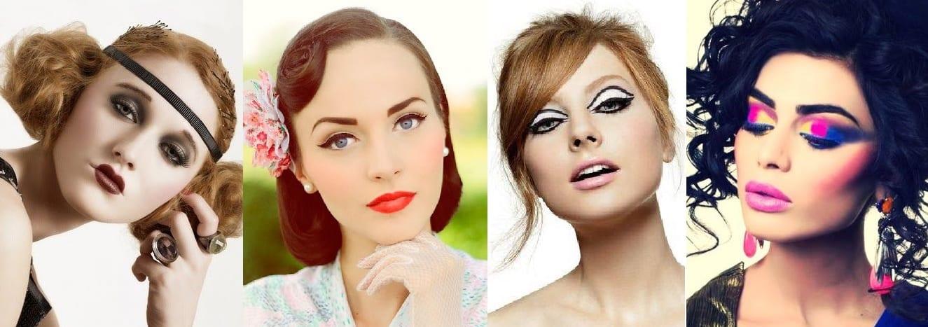 Maquillaje-de-cuatro-épocas