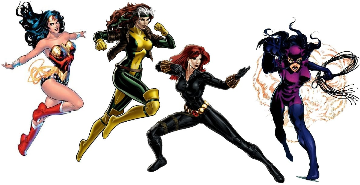 Maquillaje-inspirado-en-4-superheroínas