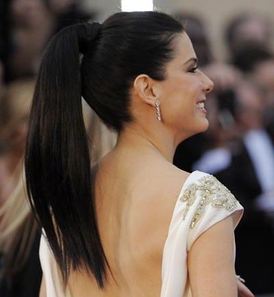 Peinados sencillos - Coleta alta