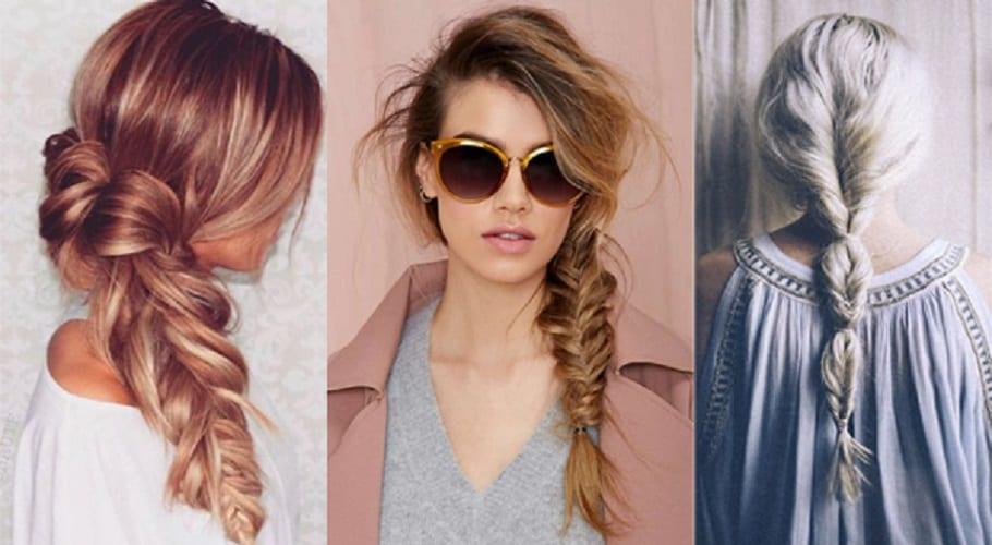 Peinados sencillos - Trenzas ladeadas