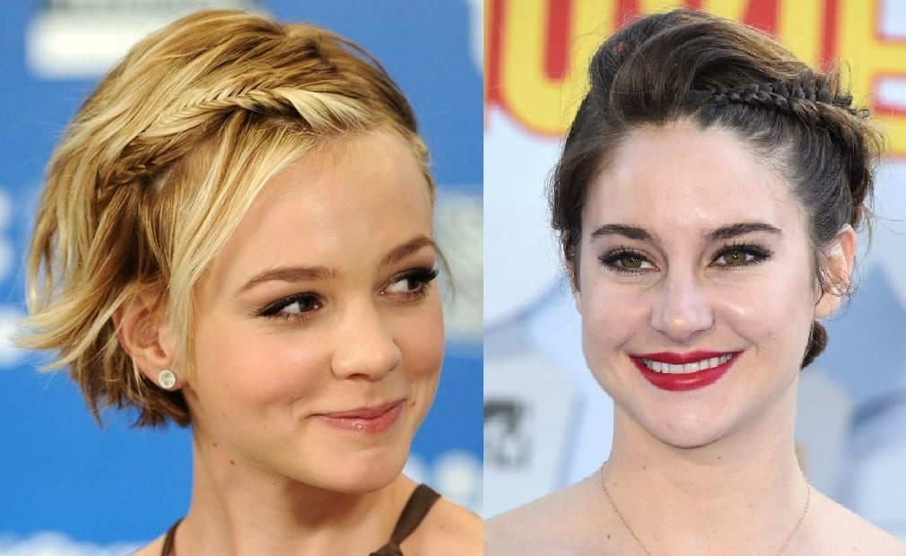 cómo peinar el pelo corto mientras crece