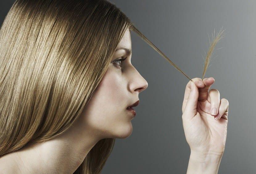 roturas de cabello