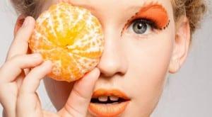 Moda en color naranja