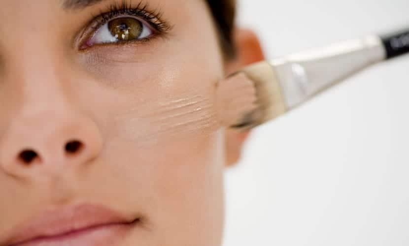Maquillaje fluido piel mixta