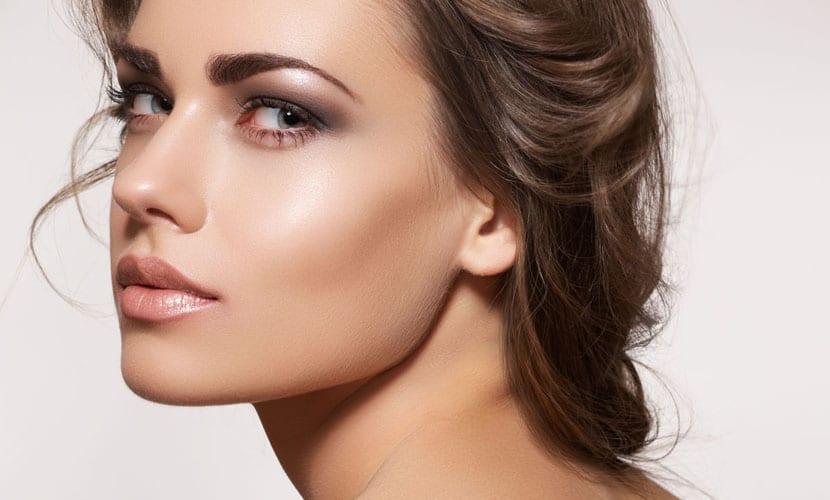 Maquillaje mate de piel mixta