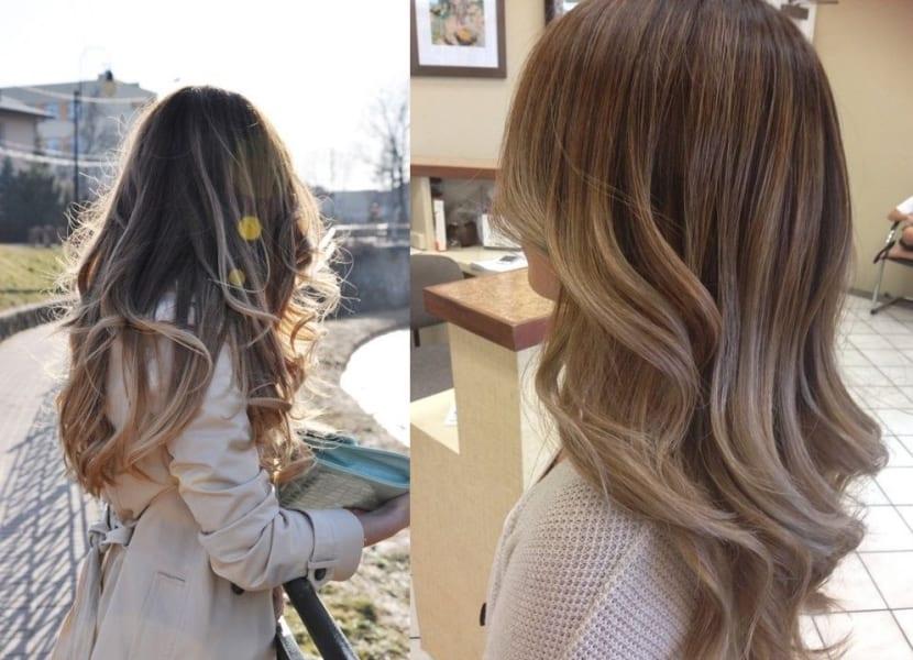 Mechas por todo el cabello