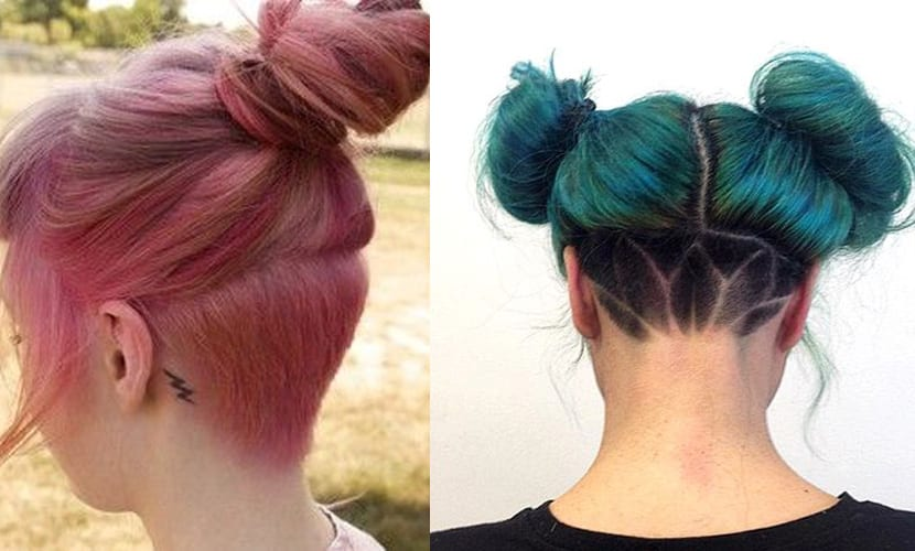 Tendencia undercut en colores