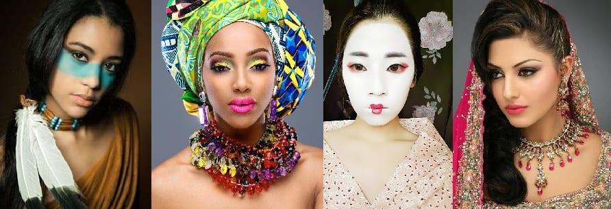 Maquillaje-étnico-maquillaje-inspirado-en-cuatro-culturas