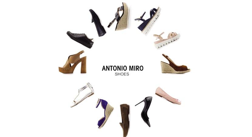 Primavera Su Antonio Miró Lanza De Colección Nueva Calzado Para 8ONkwPXn0Z