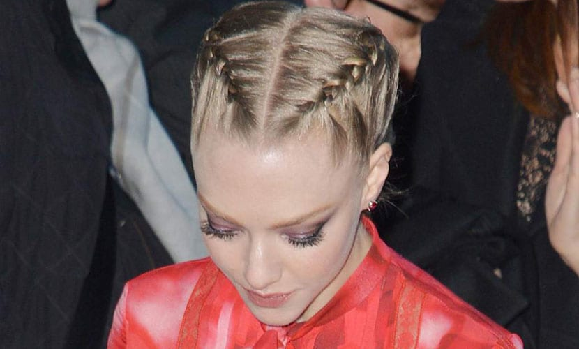 Boxer braids Amanda Seyfried