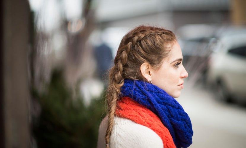 Boxer braids Chiara Ferragni