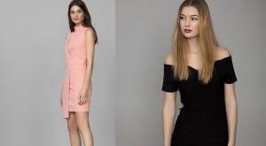 Vestidos en colores de moda