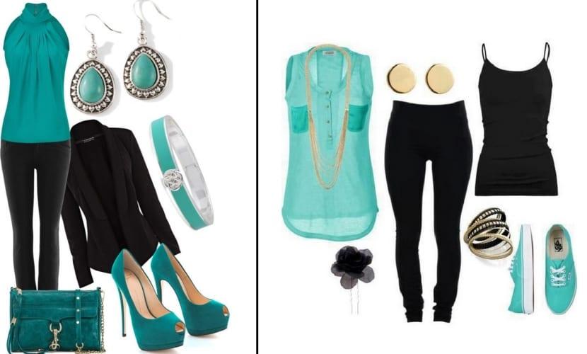 Color Turquesa - 8 Looks De Moda Para Inspirarte