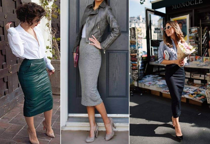 Faldas elásticas de moda